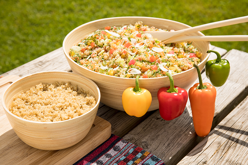 Taboulé au quinoa du Perche