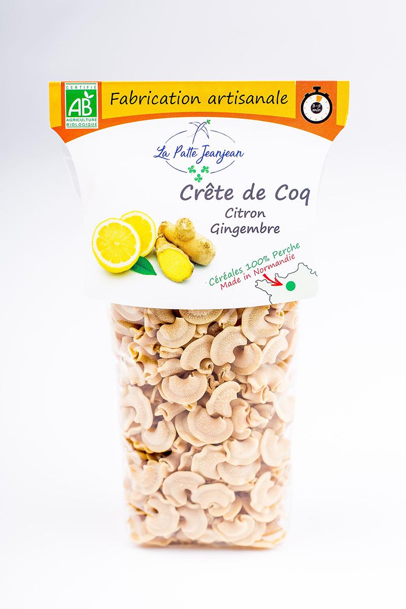 Crete de coq citron gingembre de La Patte Jeanjean