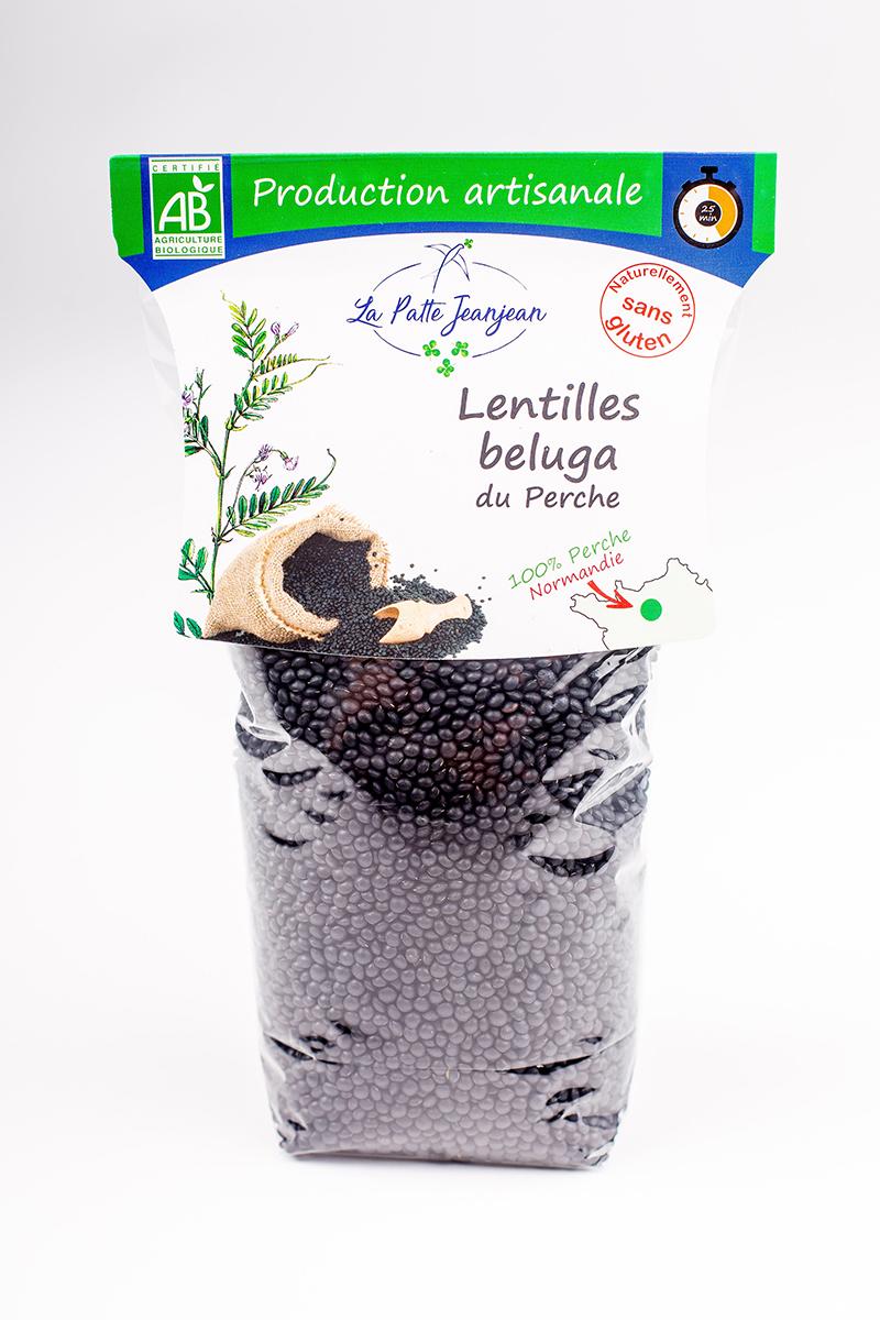 Lentilles beluga de La Patte Jeanjean