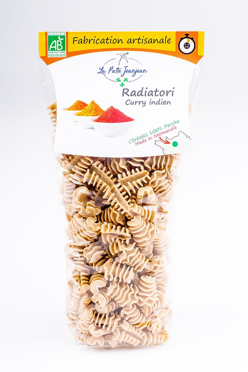 Radiatori curry indien de La Patte Jeanjean