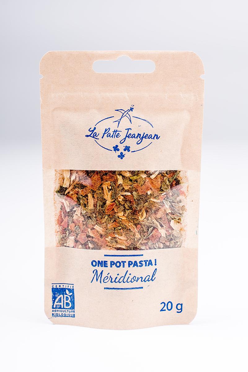 One pot pasta Méridional - La Patte Jeanjean