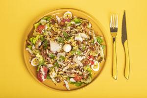 Salade de pâtes façon César
